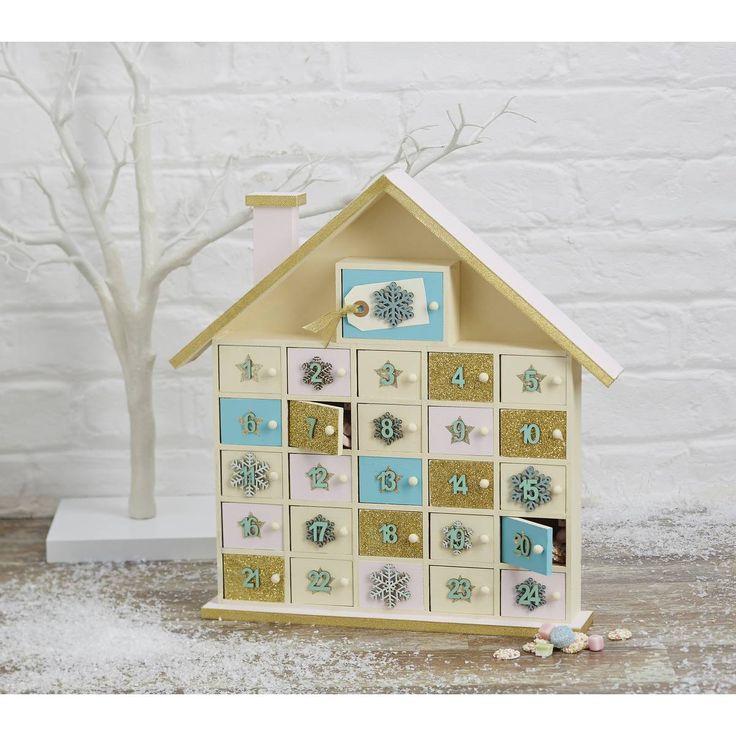 1000+ Ideas About Wooden Advent Calendar On Pinterest