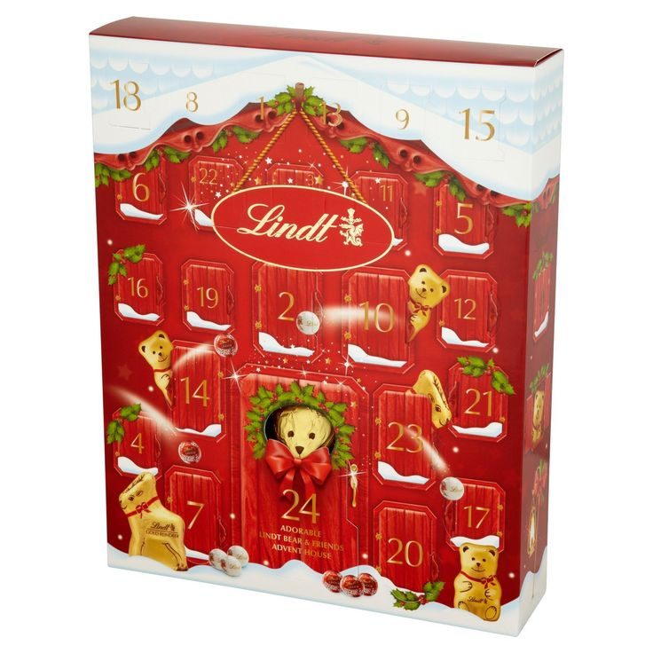 10+ Ideas About Lindt Advent Calendar On Pinterest