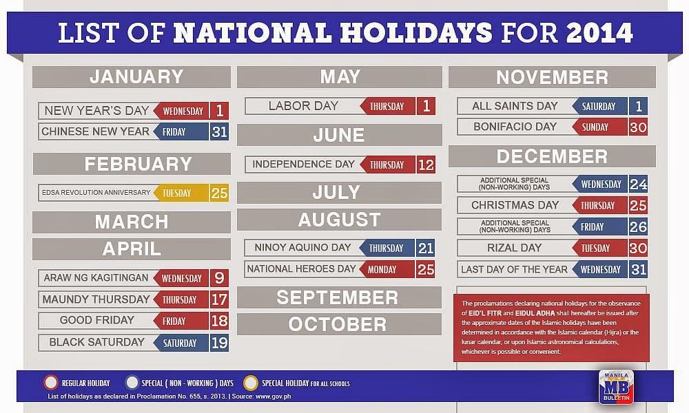 2009 Calendar With Holidays Listed