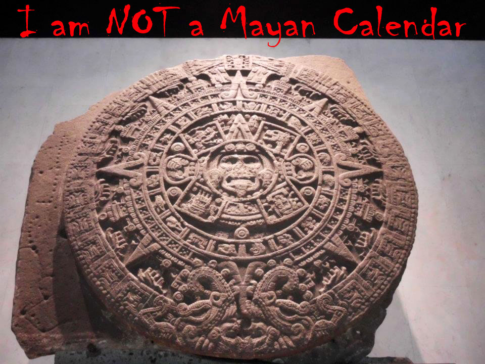 2012 The Mayan Calendar And The Sun Stone Of The Aztecs