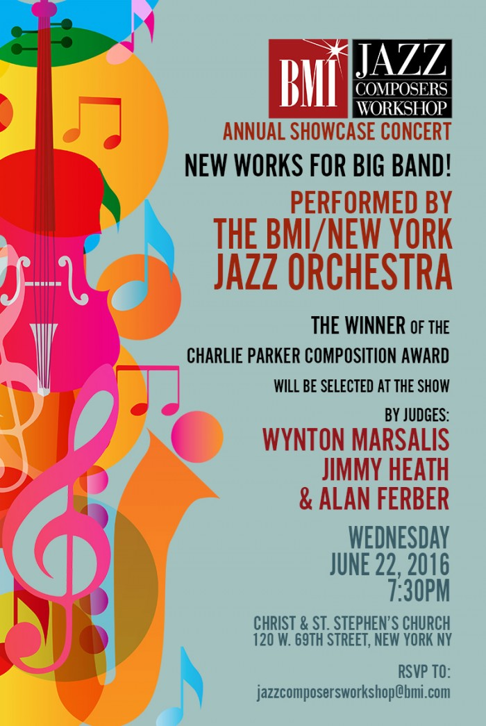 28th Annual Bmi Jazz Composers Workshop Concert  New York  June 22