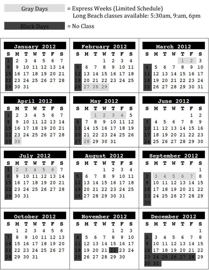 Calendar at a glance calendar template 2018 for Day at a glance calendar template