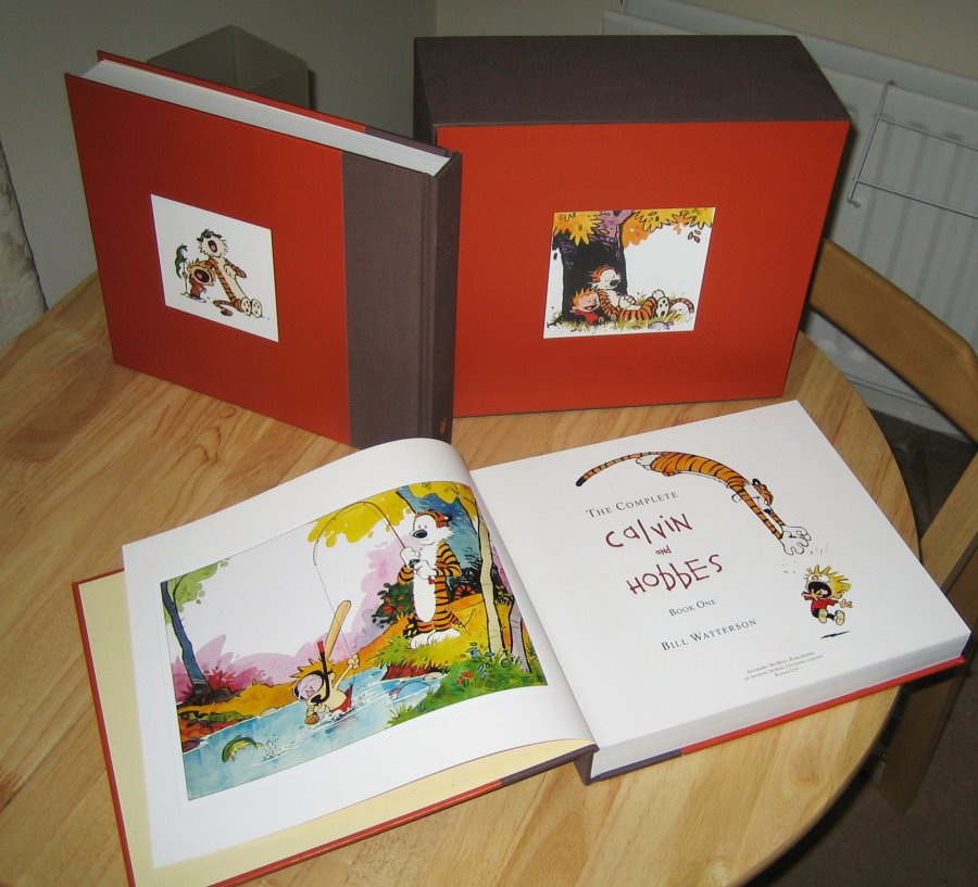 Books – Calvin And Hobbes  Magic On Paper