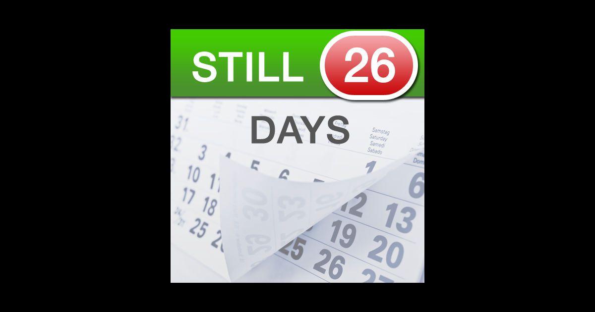 Countdown Calendar App For Pc