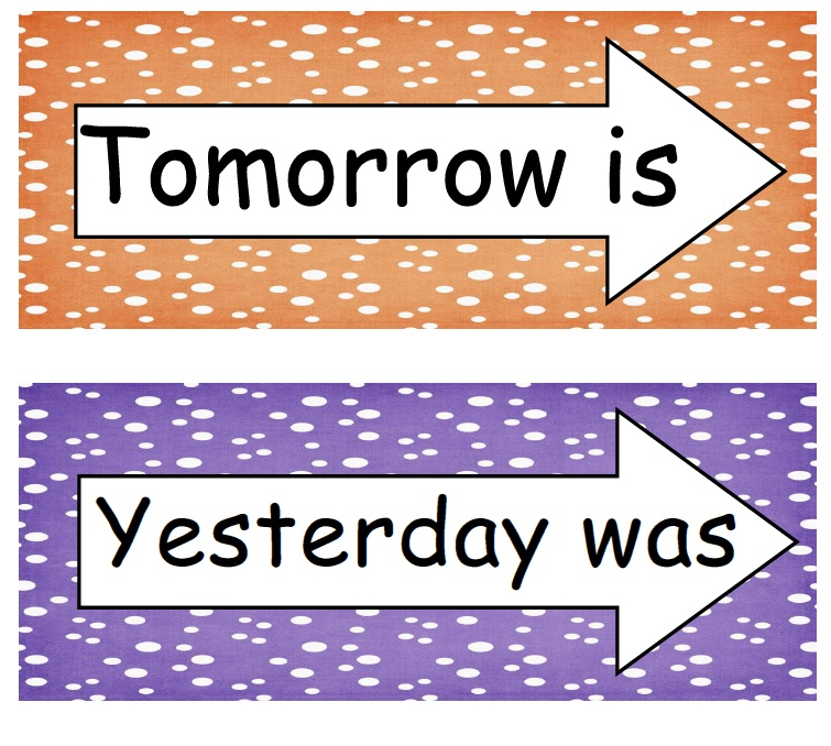 Learning And Teaching With Preschoolers  Days Of The Week Freebie