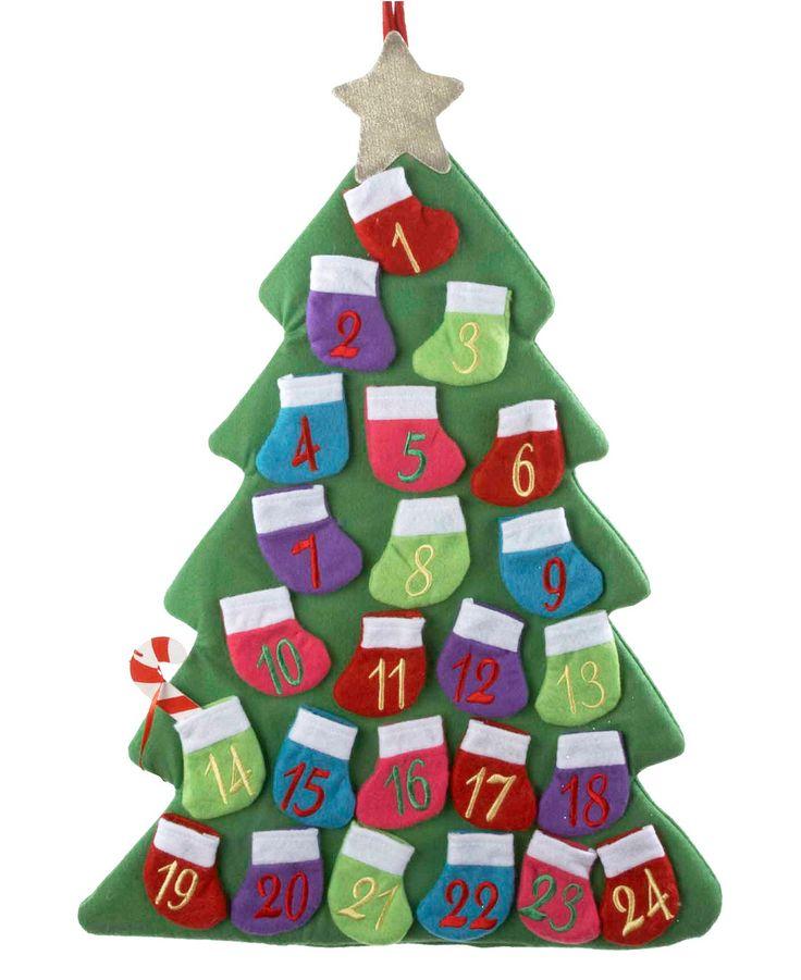 Macy's Reg  $50 00 Sale $20 00kurt Adler Advent Calendar, Fabric