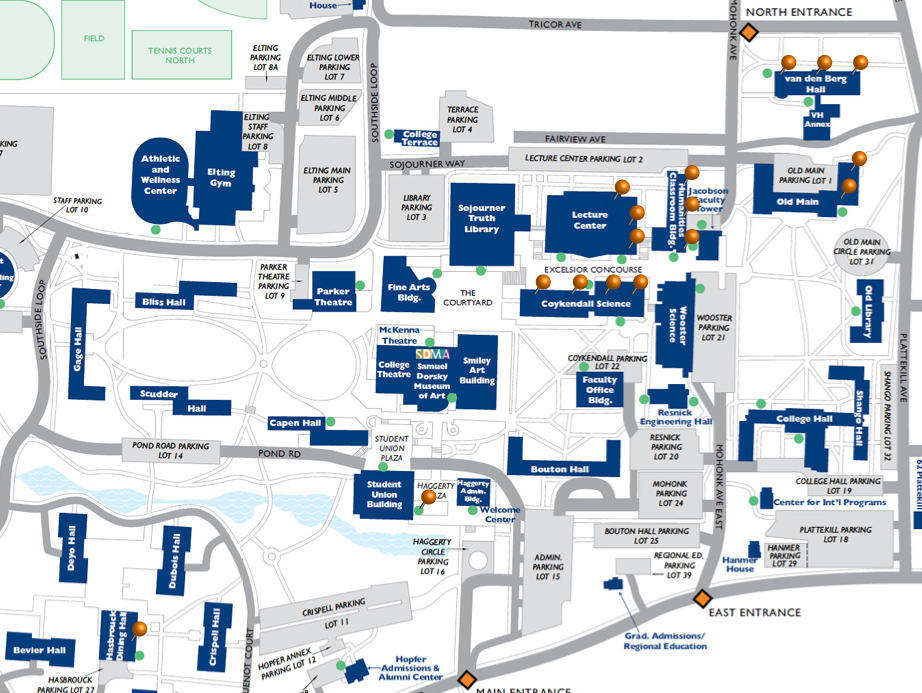Map Of Computer Labs