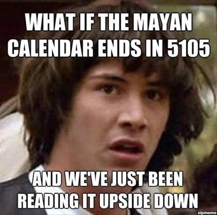 What If The Mayan Calendar Ends In 5105
