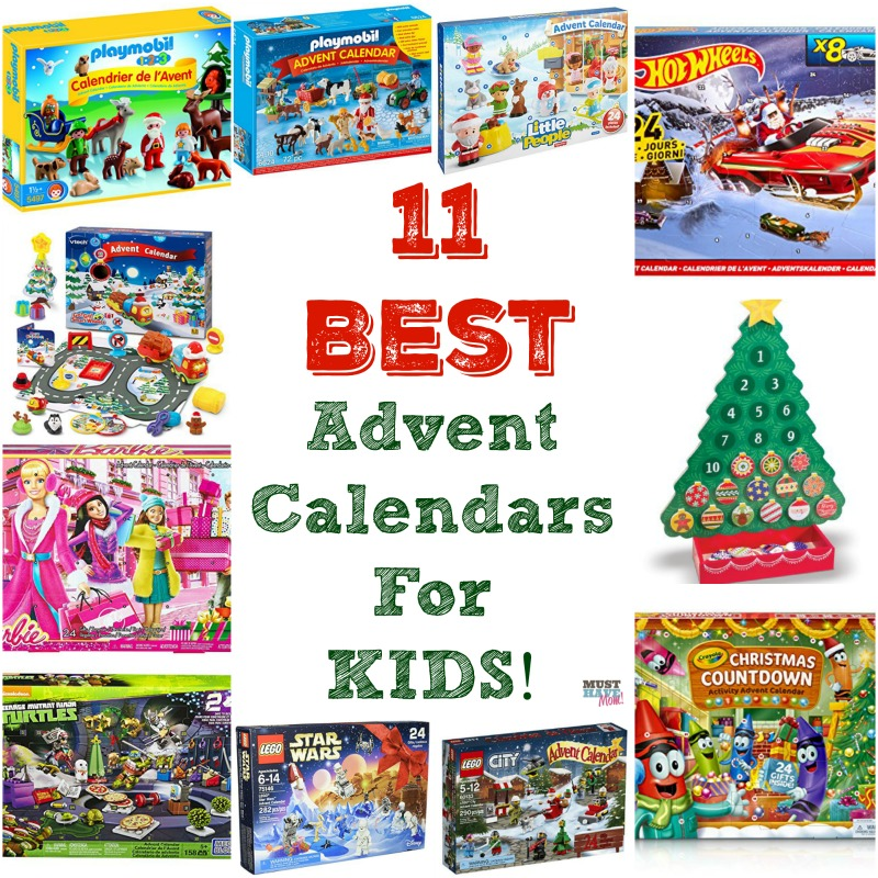 11 Best Kids Advent Calendars!