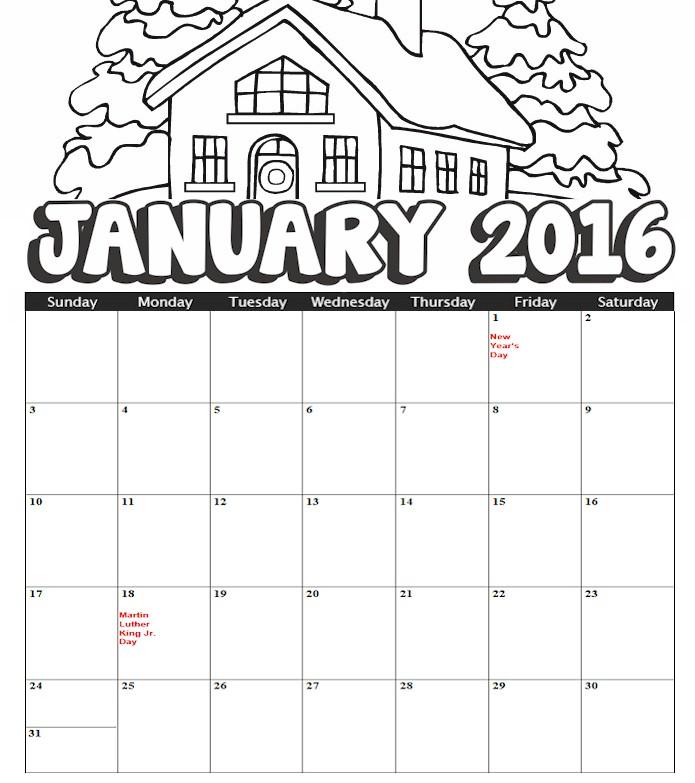 Blank Calendar Kid Friendly : Blank calendar for kids template