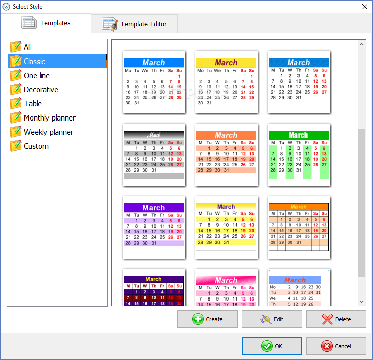 Calendar Application For Windows