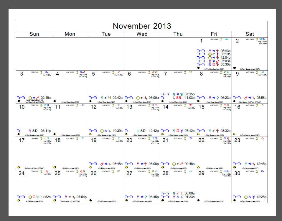 Calendars Date And Time