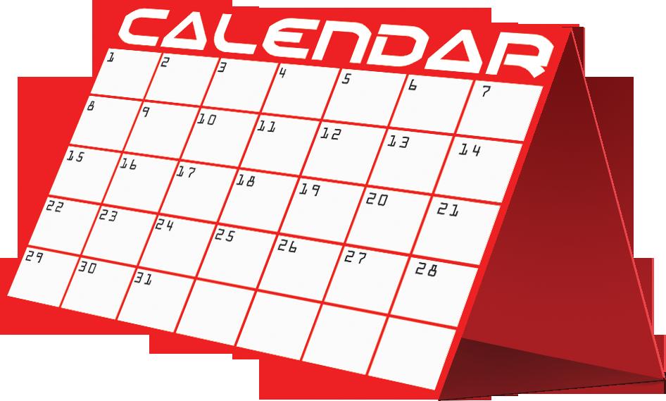 Clipart Picture Of A Calendar