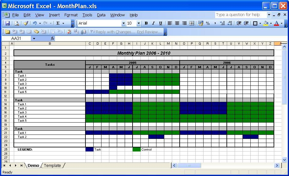 Create A Calendar From Excel Data
