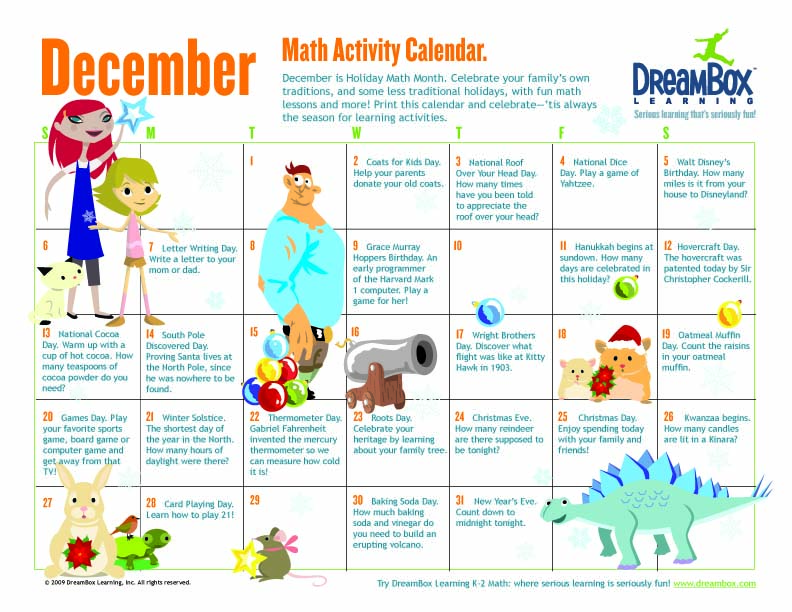Deck The Walls With Our New Kids December Calendar
