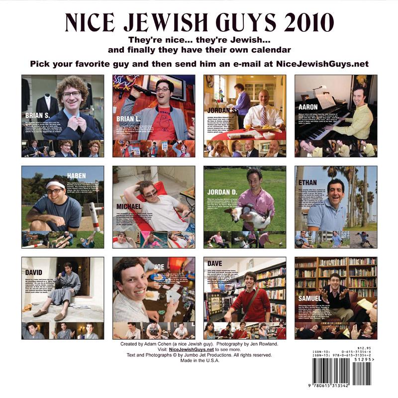 Nice Jewish Guy Calendar