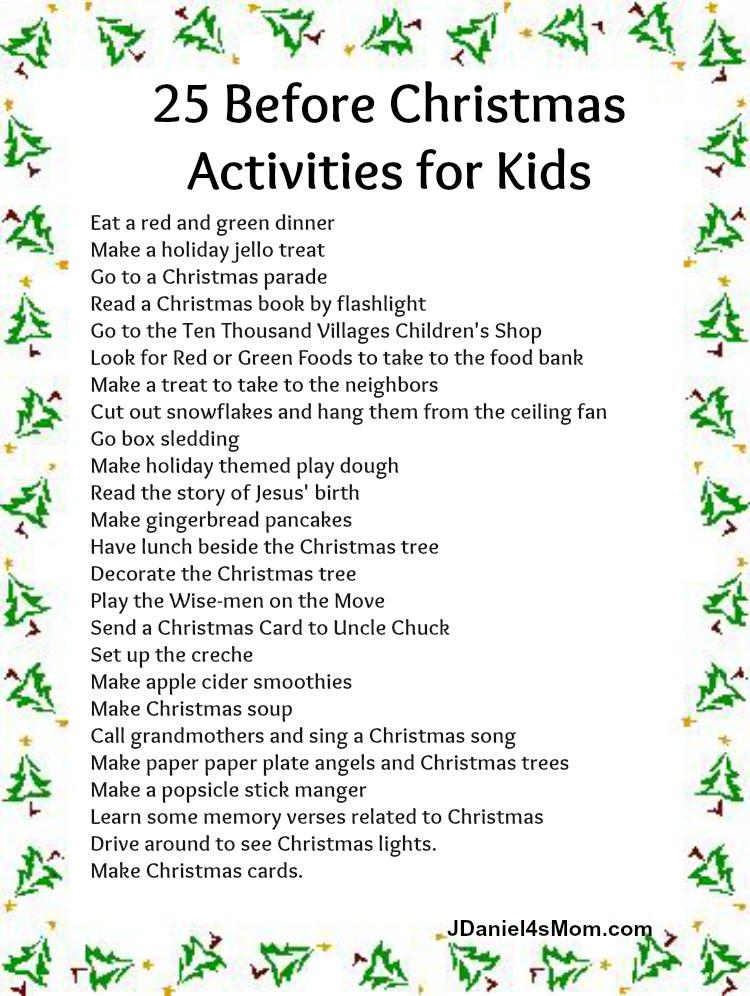 The Best Advent Calendar Christmas Activities For Kids!