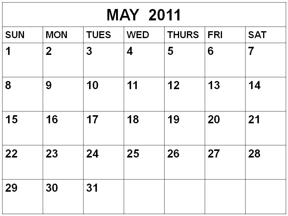 The Month Of May Calendar Images & Pictures