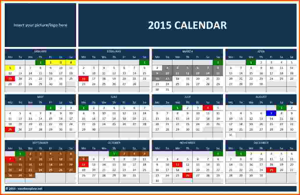 Microsoft Office Calendar Templates » Calendar Template 2017