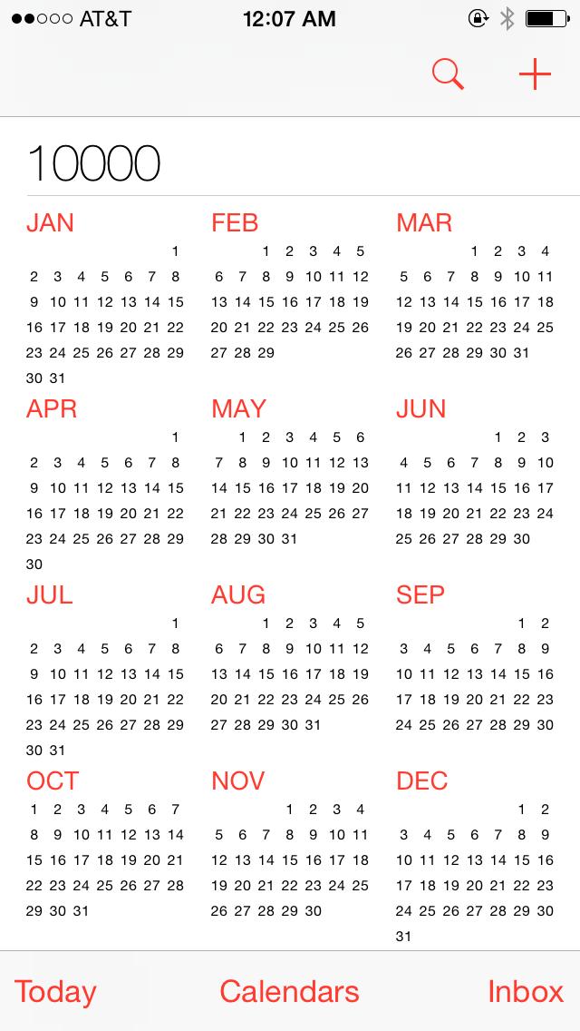 Year Up Calendar : Year calendar template