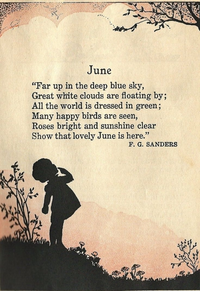A Poem To June Word Love Pinterest Poem June And Happy Thoughts  Welcome June Month Quotes Images