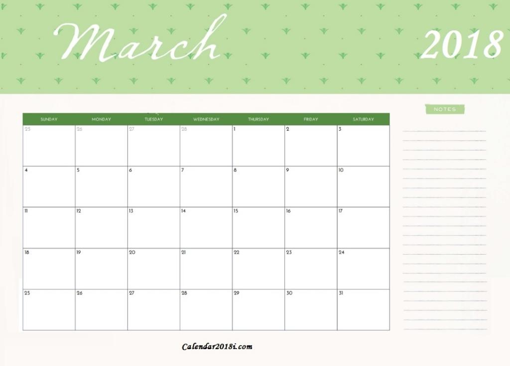 Free Printable March 2018 Calendar Latest Calendar Free Printable Editable March Calendars