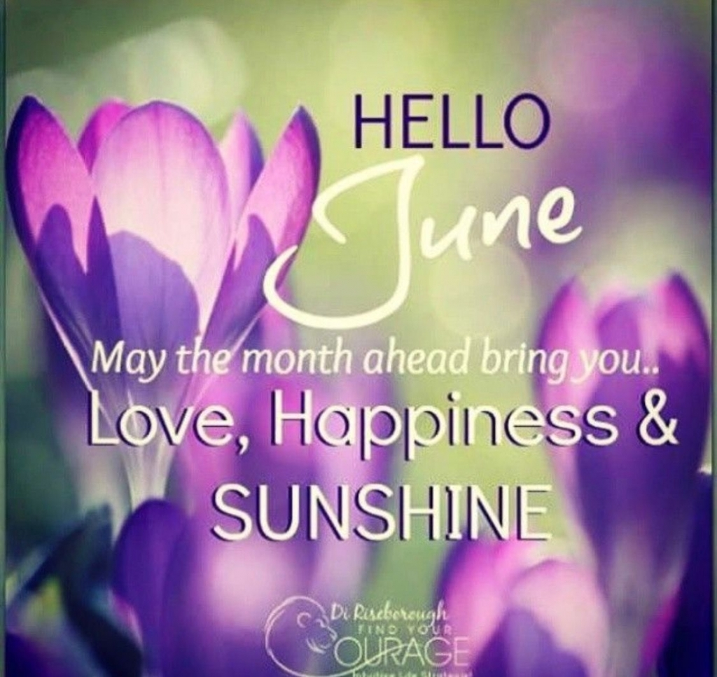 Pin Colleen Kennon On Happy Dayz Pinterest Qoutes  Welcome June Month Quotes Images