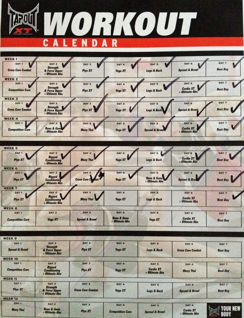 Tapout Xt Adventure Come And Get It Day 46 Muay Thai Tapout Xt Calendar