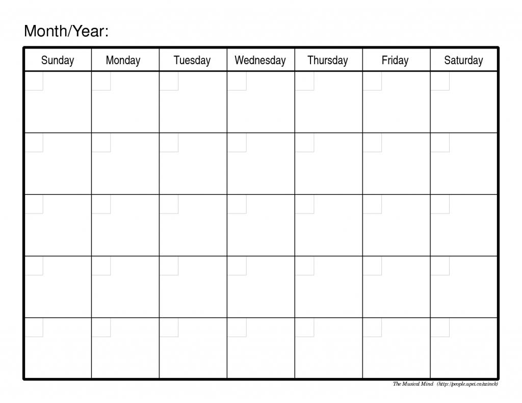 free blank monthly calendars apaqpotanistco 1 month calendar printable blank