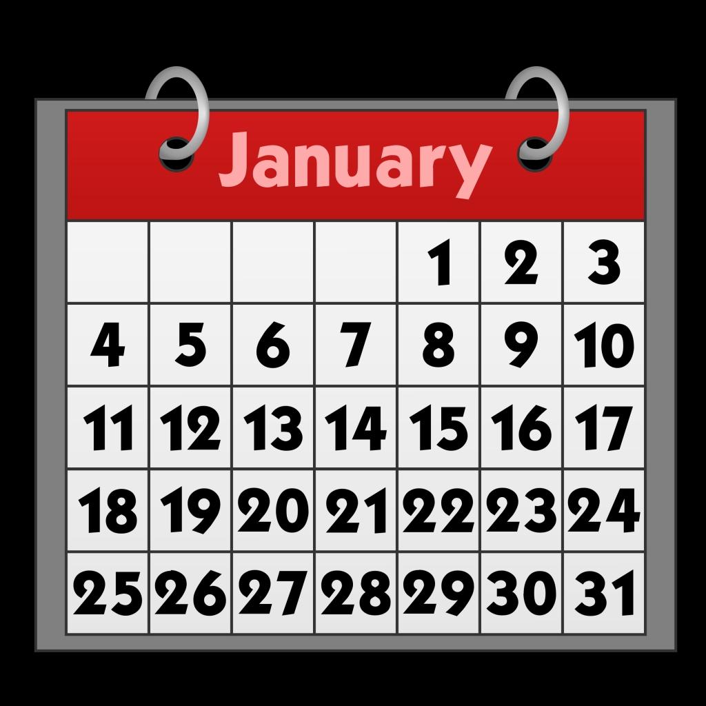 free calendars cliparts download free clip art free clip art on january clip art for calendars