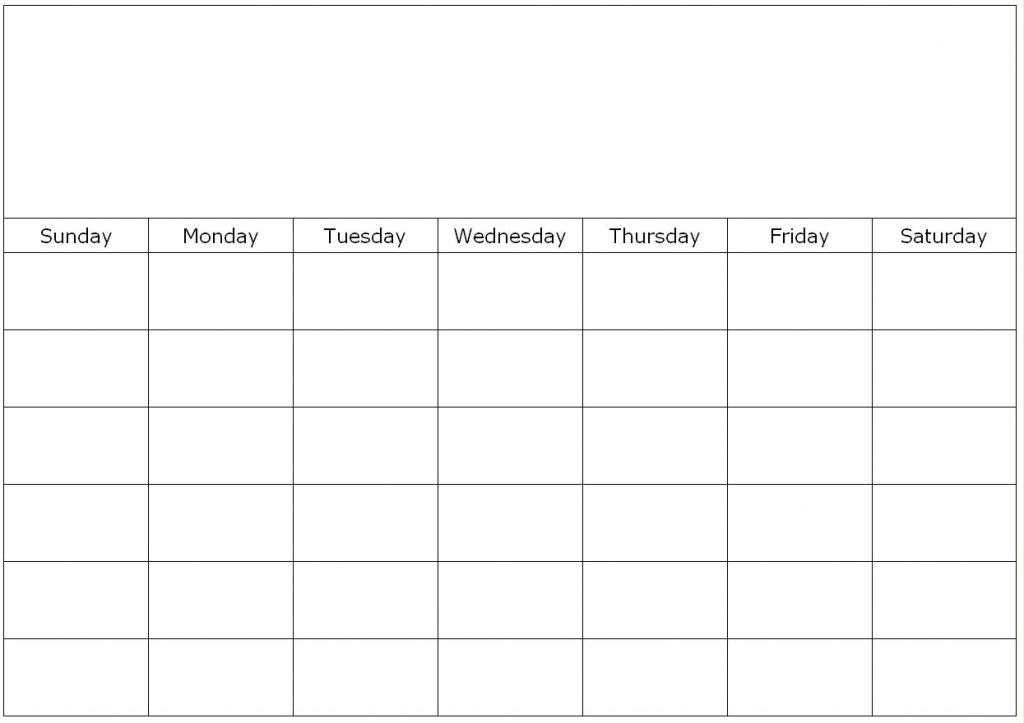 Free Printable 1 Month Calendar You Can Find This Calendar In 1 Month Calendar Printable Blank