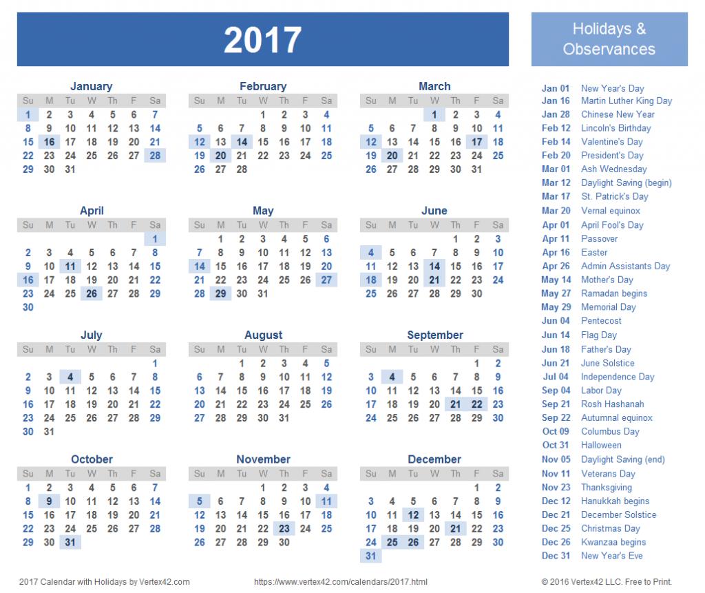 2017 calendar templates and images 1117 calendar