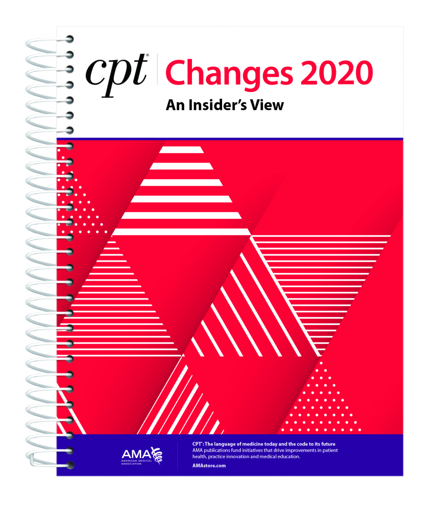 2020 Ama Cpt Changes An Insiders View Available November 2019 November 2020 8 5 X 11