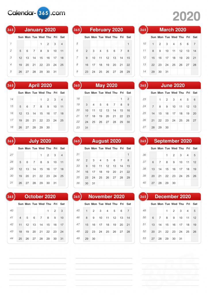 2020 calendar calendar day count 2020 3