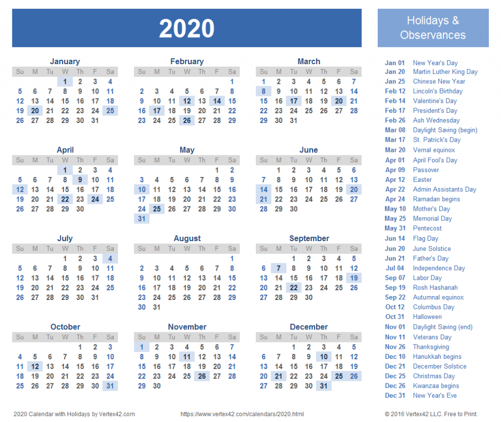 2020 calendar templates and images how to use calendar wizard 2020