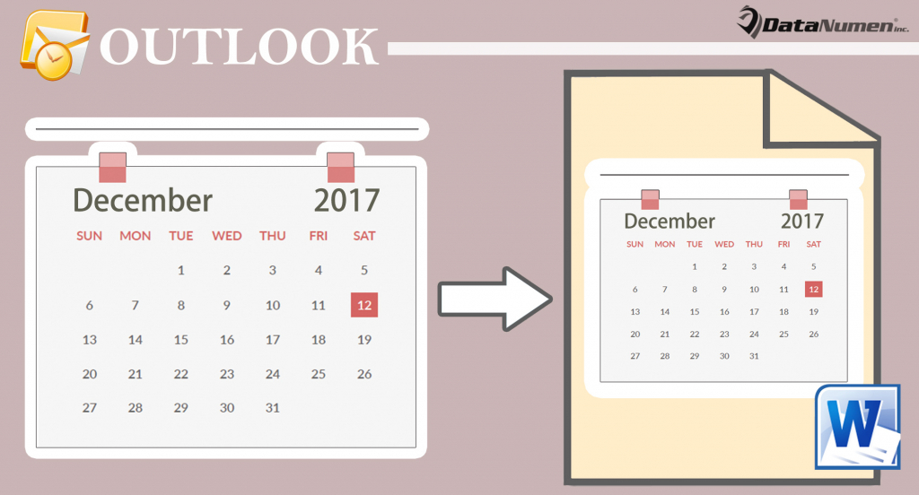 3 quick methods to export your outlook calendar to a word calendar export import microsoft word
