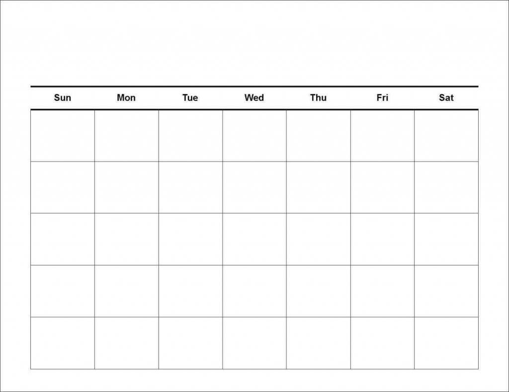 7 day calendar template printable calendar template 7 day blank calendar printable
