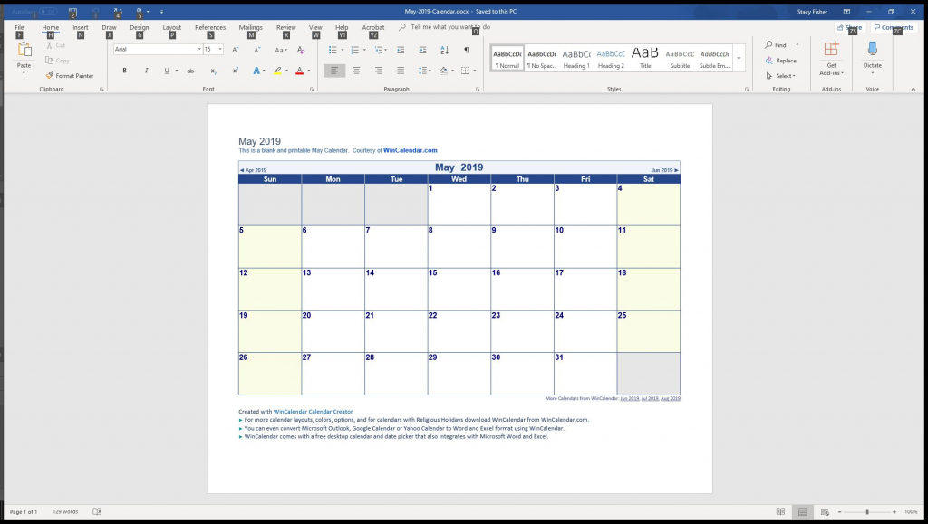 7 top place to find free calendar templates for word word calendar wizard template