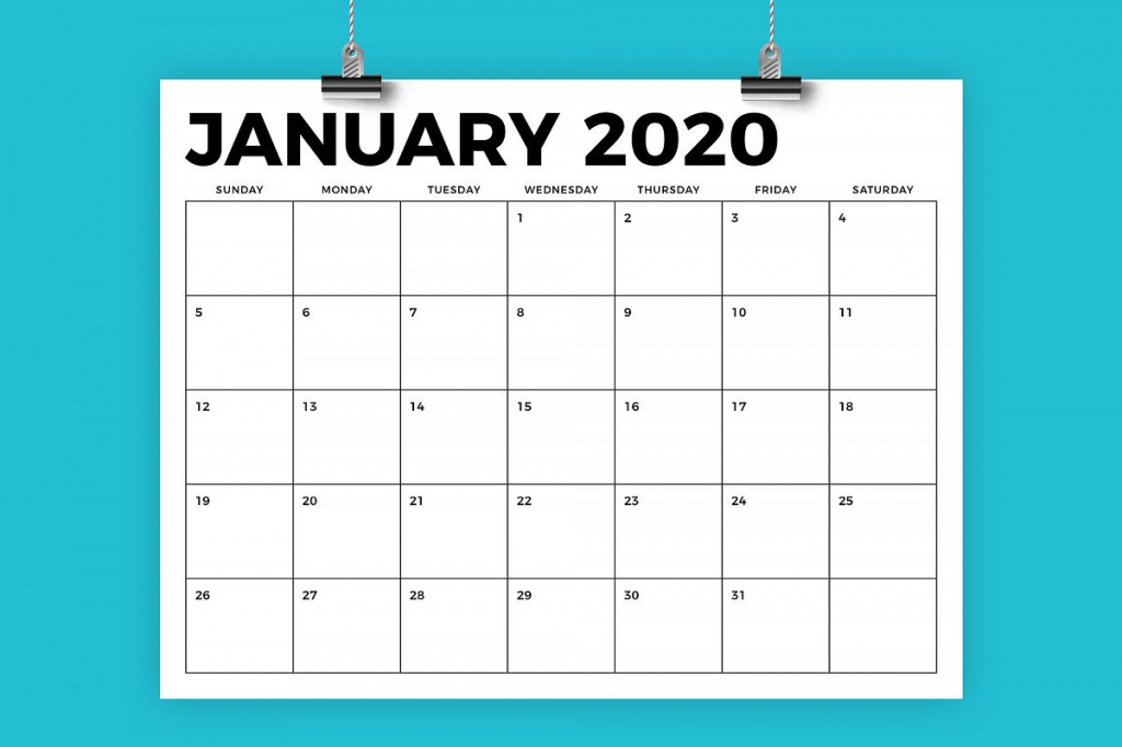 85 x 11 inch bold 2020 calendar 8 5 x 11 calander