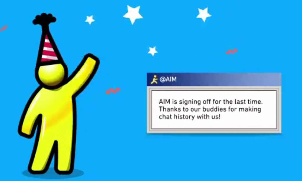 aol finally kills off its 20 year old aim instant messenger august 2020 aol is closing my free aol
