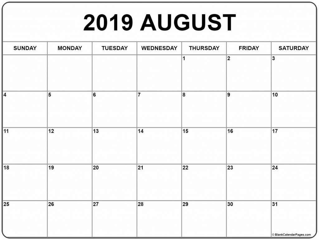 august 2019 calendar free printable monthly calendars create a calendar printable free