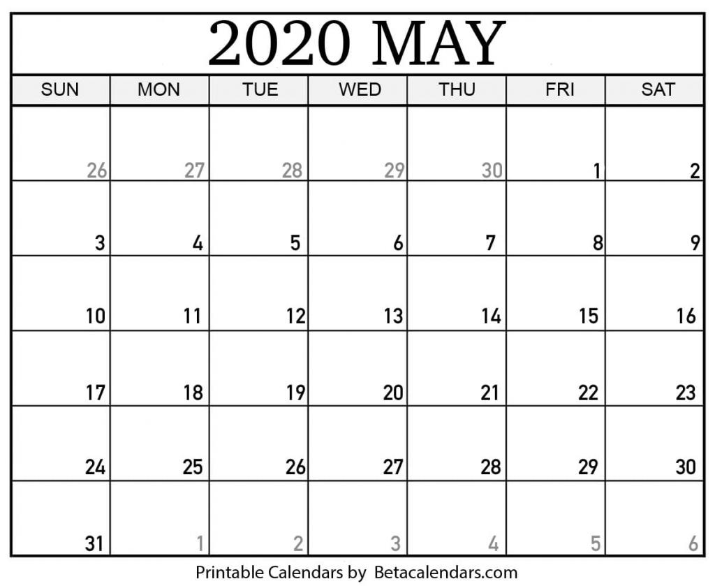 blank may 2020 calendar printable beta calendars blanket calendar 2020 3