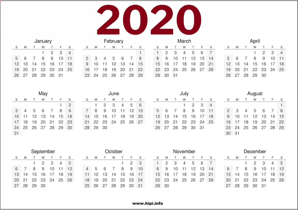 calendars printable twitter headers facebook covers 2020 calendar printable one page 8 x 11