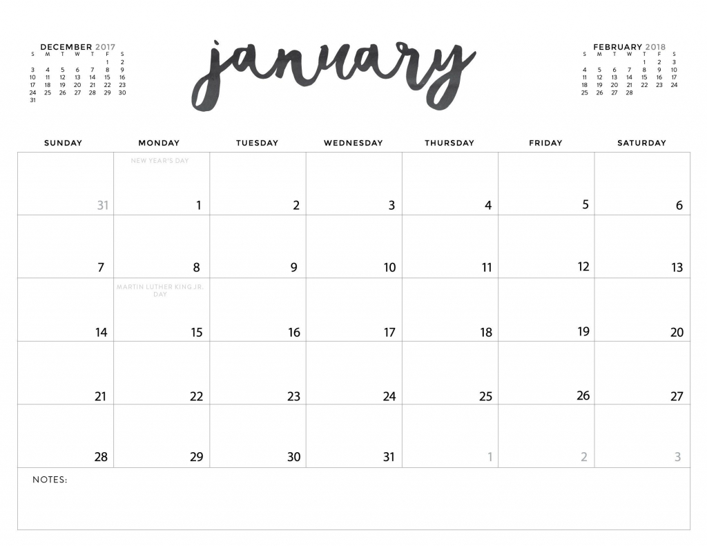 download your free 2018 printable calendars today 28 5 x 8 free blank printable calendars