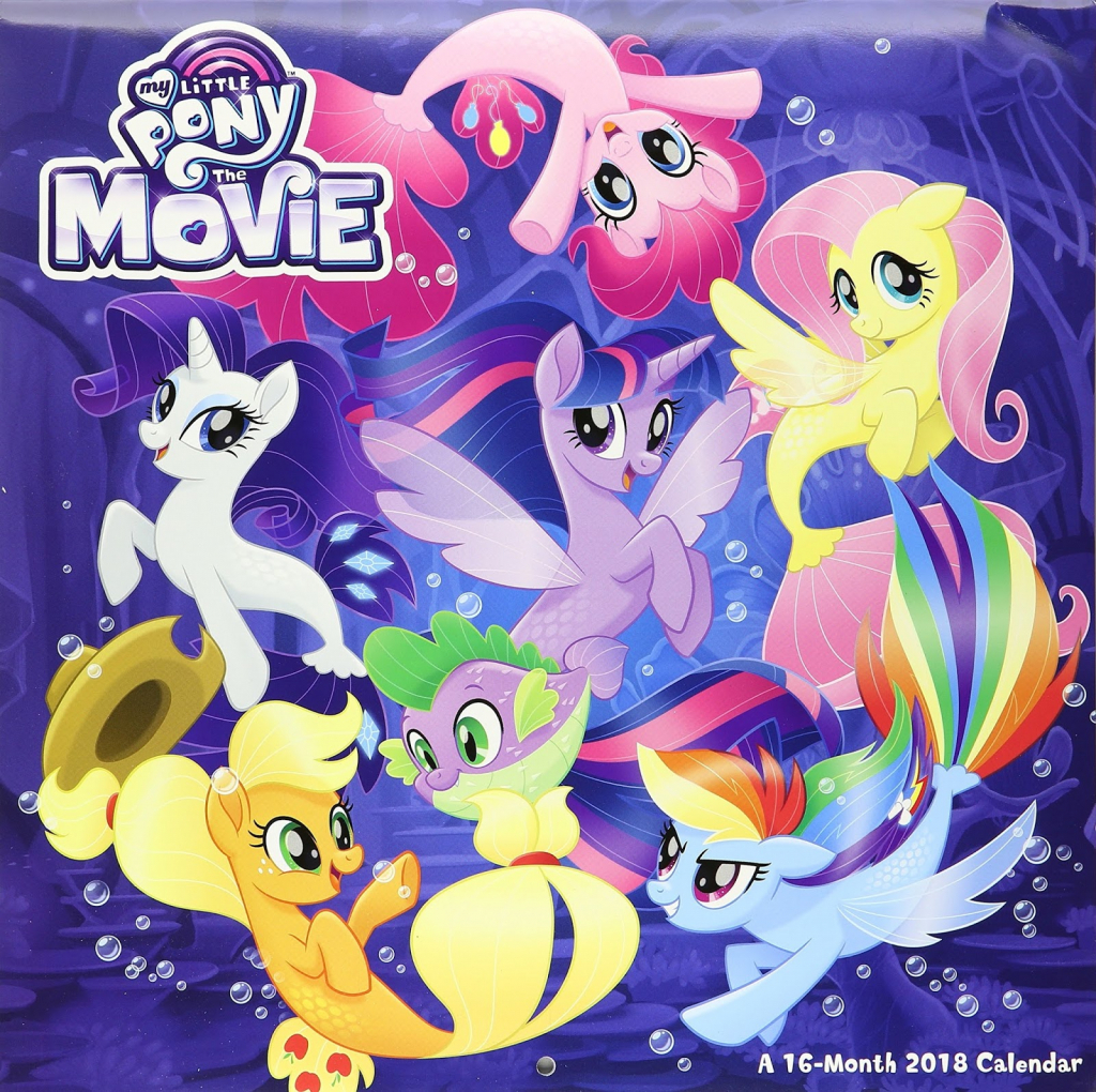 equestria daily mlp stuff my little pony the movie wall my little pony wall calendar