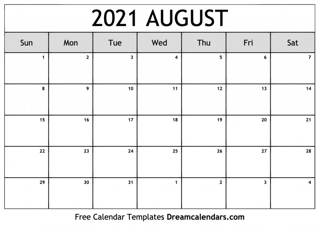 free august 2021 printable calendar dream calendars monthly sunrise sunset printable calendar