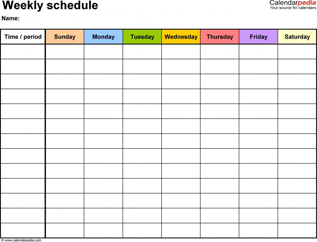 free printable week calendar weekly template with times time week calendar with time slots