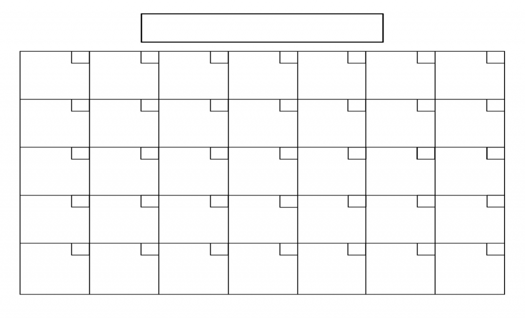 Full Size Blank Printable Calendar Calendar Inspiration Design Full Size Blank Calendar
