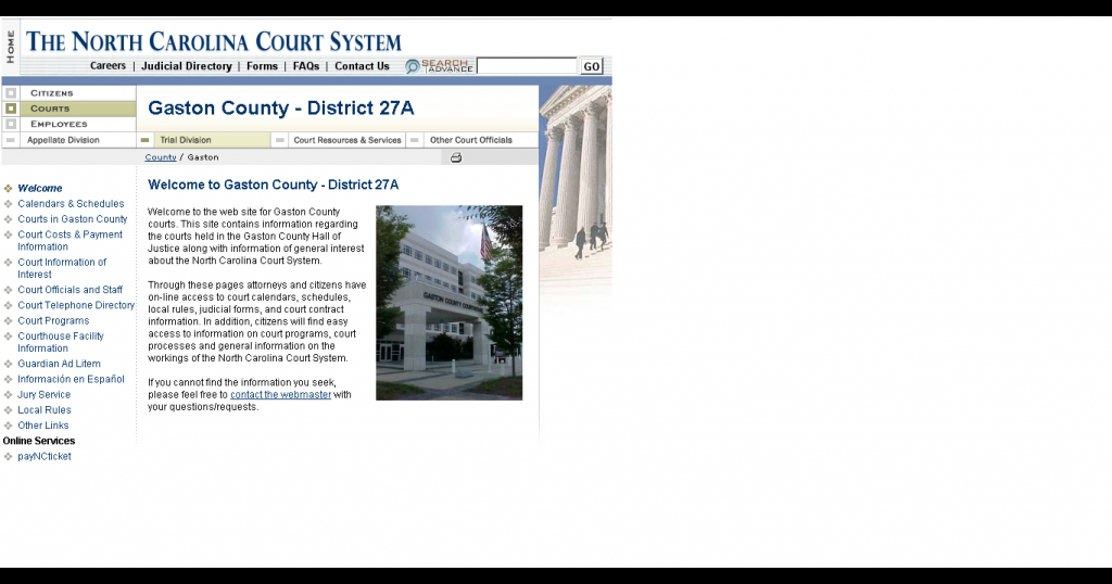 how do i find my court date if i dont have my ticket nc district superior court query 1