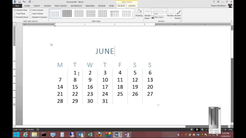 how to insert a calendar in microsoft word 2013 what happened to the calendar wizard in word